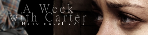 A Week with Carter banner