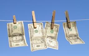 Moneyclothesline